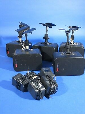 Lot of 5 Audix Powered Video Monitors / Speakers Mode PH-3S