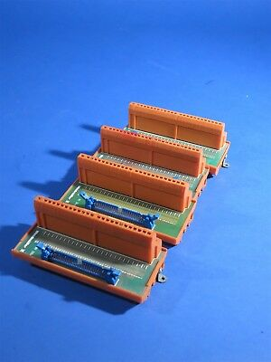 Lot of 4 914898 / National Instruments RI-50A IDC GSED RS-70 Interface + Cables