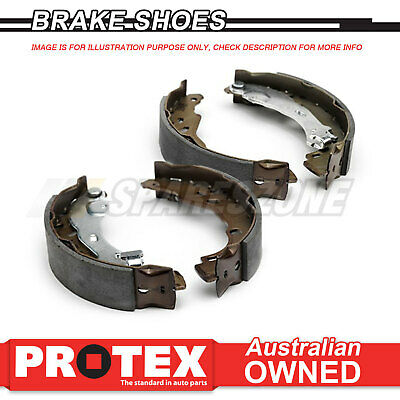 4 pcs Rear Protex Brake Shoes For HOLDEN Commodore Disc/Disc Models 1988-on