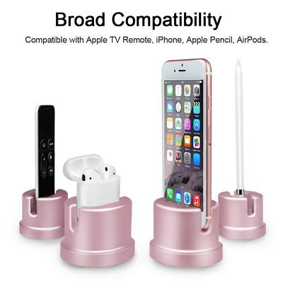 For Apple Pencil Stand Aluminum Scratch-Free Charging Dock Station Holder Fintie