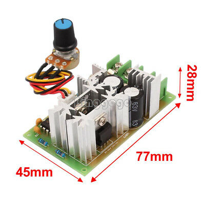 25KHz DC10-60V 20A PWM HHO RC Motor Speed Controller Module Switch Deutsche Post