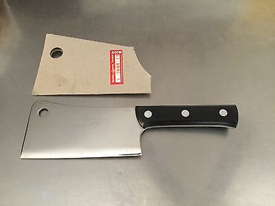 """F Dick 9109915 Kitchen Cleaver 6"""" blade stainless steel New In Original Package"""