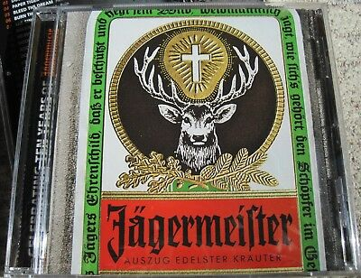 Jagermeister Cd Featuring Slayer 21 Songs Celebrating 10 Years Of Jagermusic