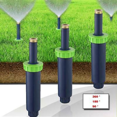 Auto Pop-up Spray Misting Nozzle Atomizing Sprinkler Head Lawn Garden Irrigation