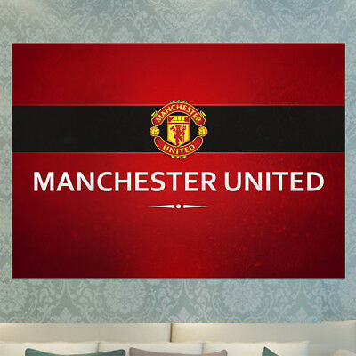 New 2017 Manchester United Man Utd Fc High Quality Poster Print A4 A3 Photo