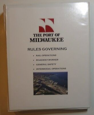 Port of Milwaukee - Railroad Operating Rule Book 2000 ish