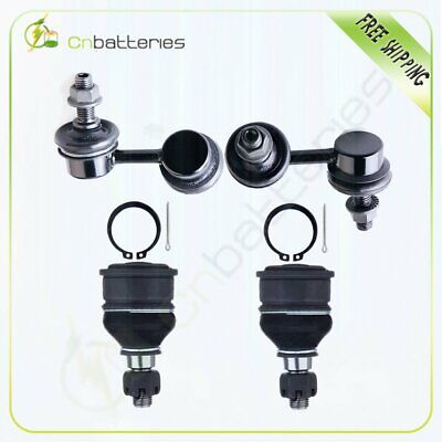 Suspension 4 x Ball Joints & Stabilizer Bar Link Kits For Acura CL Honda Civic