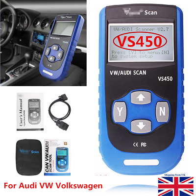 Vgate VS450 VAG CAN OBD2 ABS Airbag Immobilizer Diagnostics Scan Tool ABS BAG UK