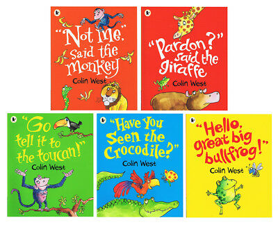 Colin West Kids' 5-Book Pack
