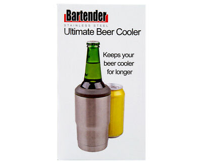 Bartender Ultimate Beer Cooler - Silver