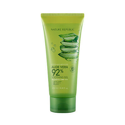 [NATURE REPUBLIC] Soothing&Moisture Aloe Vera 92% Soothing Gel (Tube) 250ml (AU)