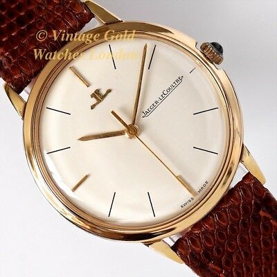 Jaeger-Lecoultre 18Ct, 1962 - Simple And Immaculate!