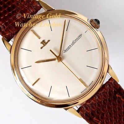 Jaeger-Lecoultre 18K, 1962 Ladies Dress Watch - Simple And Immaculate!