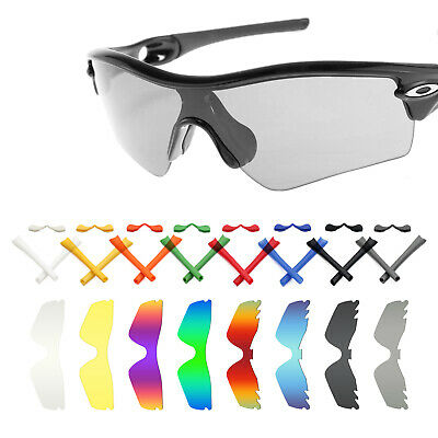 588e9c4fd75 Mryok Replacement Lenses and Rubber Kit for-Oakley Radar Path Sunglasses -  Opt.