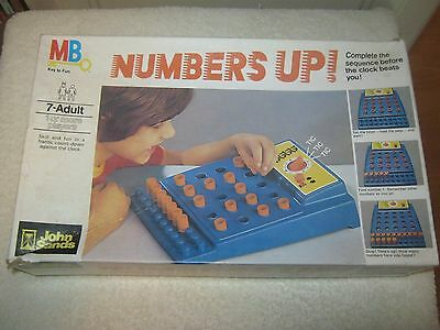 Numbers Up Game - Vintage 1977 Game - 100 % Complete