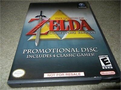 ***zelda Legend Of, Collector's Edition Nintendo Gamecube Game W/ Case***