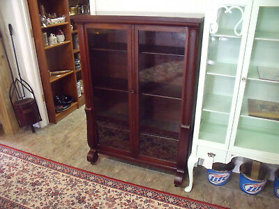 Empire style Bookcase with glass doors-TOP QUALITY.