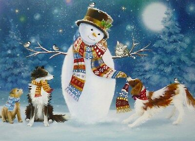 Dog Charity - Christmas Cards - Pack of 10 Cards NEW, ALL proceeds to dog rescue