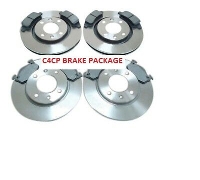 Peugeot 206 Cc 1.6 2.0 Front And Rear Brake Discs And Pads 2002-2007