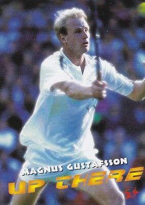 1997 Intrepid Tennis Trading Card #15 Magnus Gustafsson Sweden