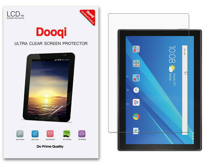 3X Dooqi HD Clear LCD Screen Protector Shield Cover Guard For Lenovo Tab 4 10
