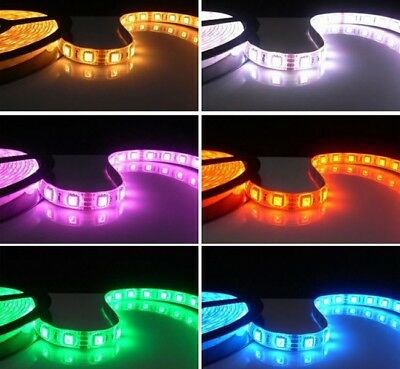 10M / 5M 300/600 LED Strip Light 3528/5050 SMD Ribbon Tape Roll Waterproof IP65