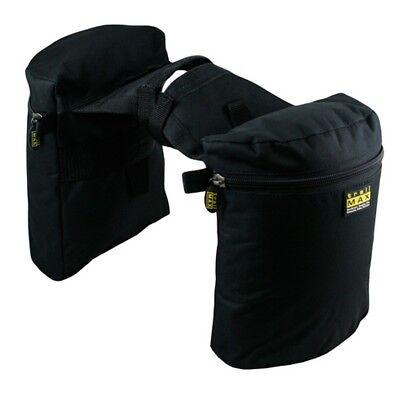 """Outfitters Supply Pommel Bag Country Pair 11"""" x 8.5"""" x 4"""" WTM250"""