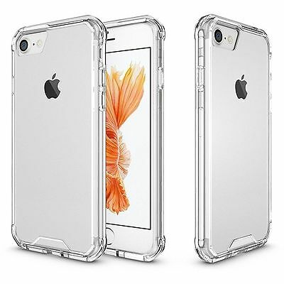 ULTRA HYBRID Shockproof Air Bumper Clear Hard Case Cover  iPhone 6 6s 7 7+ 8 X