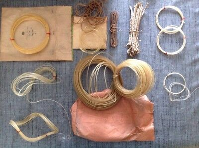 Clock Gut Line And Cord Assorted Ex Clockmakers Spare Parts Collection Incl NOS