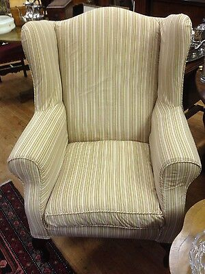 Wing Back Armchair - Removable Covers