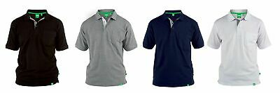 GRANT-D555 Fully Combed Pique Polo Shirt With Pocket