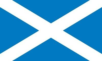 Scotland St Andrews Flag Saltire Or Funeral Coffin Drape 8 x 5ft ONLY £6.50