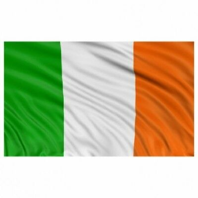 IRELAND EIRE GIANT 8X5ft NATIONAL FLAG RUGBY 6 NATIONS AND FUNERAL COFFIN DRAPE
