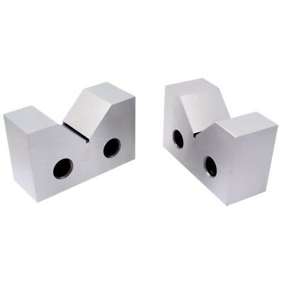 "2 X 7/8 X 1"" Steel V-Block Set (3402-1302)"