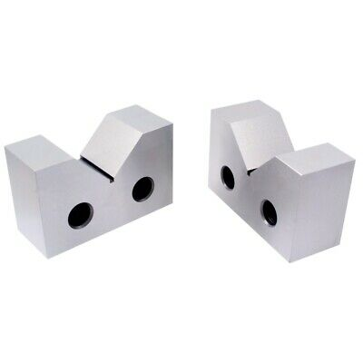"4 X 1-5/8 X 2-5/8"" Steel V-Block Set (3402-1304)"