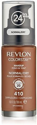 Revlon ColorStay Makeup For Normal/Dry Skin, Cappuccino 1 oz