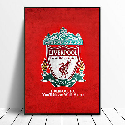 Liverpool Fc Print A4 A3 Anfield Football Club Poster Christmas Birthday Gift
