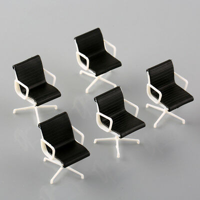 5Pcs 1:25 G Scale Train Railway Leisure Chair Settee Model Furniture Decor
