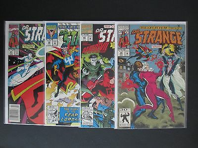 Dr. Strange Sorcerer Supreme 31, 38, 39, 40 Lot / Comic Doctor Great Fear Lords