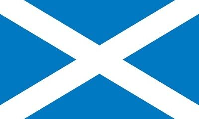 SCOTLAND SCOTTISH FLAG 5x3 FT Rugby Yes Campaign Football St Andrews Day Saltire