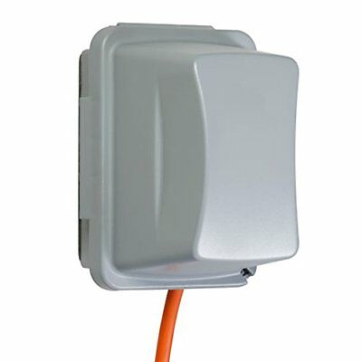 Taymac MM710G Jumbo 4-3/4-Inch Depth Weatherproof In-Use Plastic Cover 16 Config