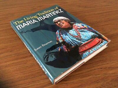 Maria Martinez American Indian Pottery / Illustrated In-Depth Book First Ed 1977