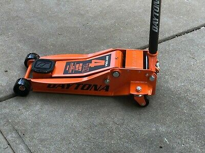 4 Ton Heavy Duty Steel Floor Jack with Rapid Pump Lift Car Vehicle Garage Shop