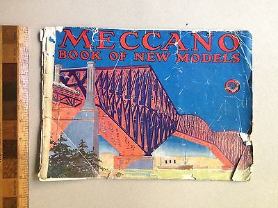 Vintage 1930S Meccano Australia Book Of New Models Promotional Toy Catalogue!!!