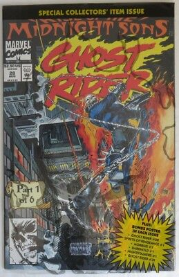 1992 Ghost Rider #28 Polybagged  -  Nm                             (Inv14631)
