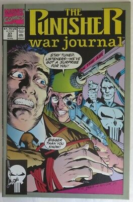 1991 The Punisher War Journal #37 -  F                             (Inv14615)