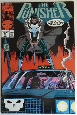 1991 The Punisher #45 -  F                                (Inv14618)