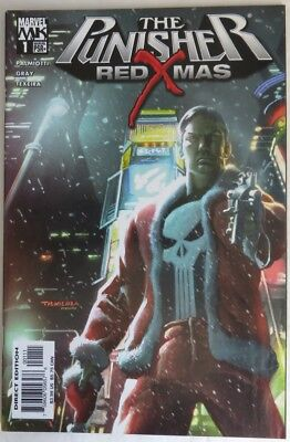 2005 The Punisher Red Xmas #1 -   Vf                                (Inv14625)