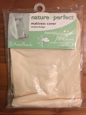 Sheets for Arms Reach Cocoon - organic cotton and bamboo blend - NIP NEW natural