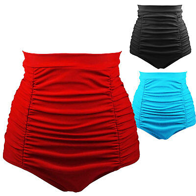 Costume dress french knickers piece below seaside pool PINUP high waist